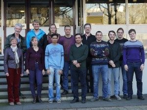 Molecular Biophysics Group, February 2016